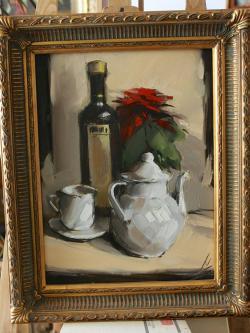 alte Picturi compozitie in alb