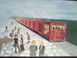 alte Picturi Călătorie spre ţinutul muzicii cu Trenul Rock N Roll