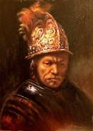 alte Picturi Omul cu casca de aur