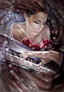 alte Picturi Dragostea pentru muzica