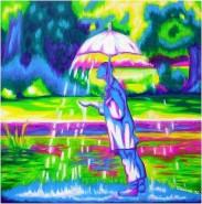 alte Picturi Omul care aduce ploaia-the mann that brings rain
