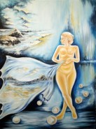alte Picturi Fata aurie