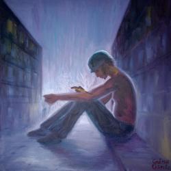 alte Picturi Consumatorul de heroina