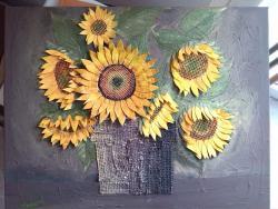 alte Picturi Floarea soarelui 3d relief