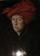 alte Picturi Replica barbatul cu turban rosu van eick