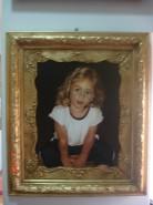 alte Picturi Tablou portret copil