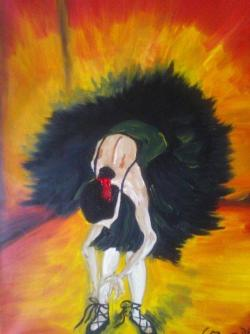 alte Picturi lebada neagra cod 134
