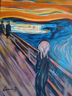 alte Picturi urletul cod 0084