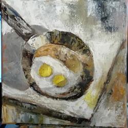 alte Picturi Doua oua ochiuri