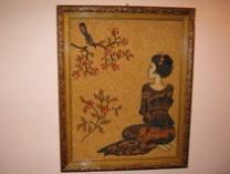 Picturi din seminte Gheisa