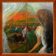 alte Picturi Fata in fereastra