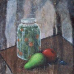 alte Picturi Borcan cu muraturi