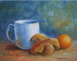 alte Picturi Cana, frunza si portocala