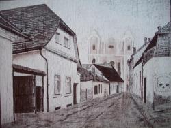 alte Picturi O strada veche