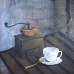 alte Picturi Rasnita si cana de cafea
