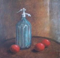 alte Picturi Sticla de sifon cu mere