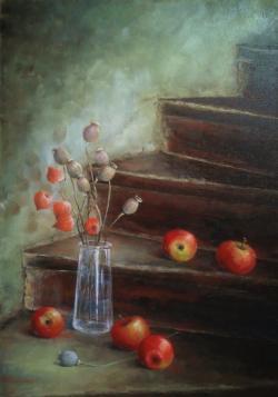 alte Picturi Trepte cu mere