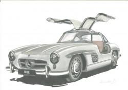 alte Picturi Mercedes sl