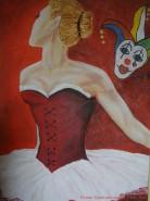 alte Picturi Cabaret ballerina