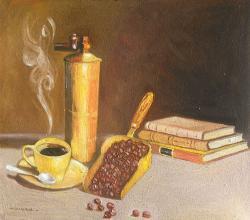 alte Picturi natura statica cu cafea