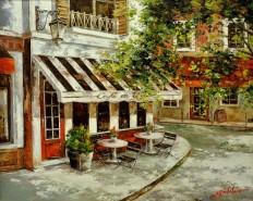 alte Picturi Cafenea la colt de strada