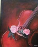 alte Picturi Romantic violin