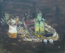alte Picturi Natura moarta cu usturoi