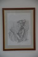 alte Picturi Fata cu cartea