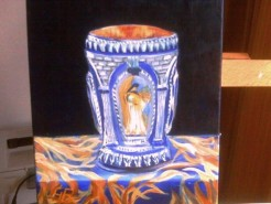 alte Picturi Silver kiddush cup
