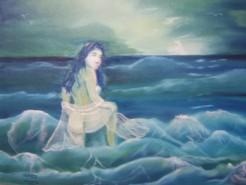 alte Picturi Femeia marii