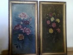 alte Picturi Flori carton