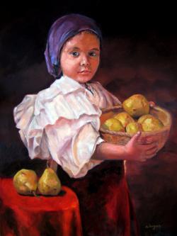 alte Picturi Cosul cu Pere