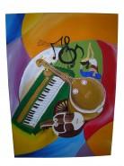 alte Picturi Pe ritmutile muzicii indiene