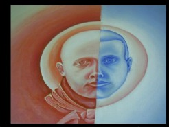 alte Picturi Tranzitie rosie albastra fara galben