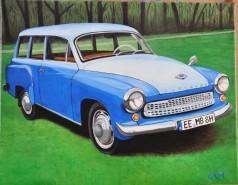 alte Picturi Blue wartburg