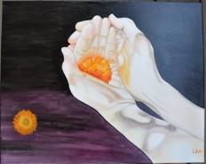alte Picturi Floare in maini
