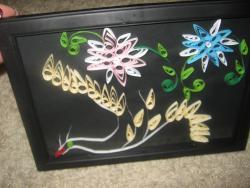 alte Picturi pasare cu flori