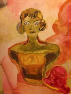 alte Picturi Bust stilizat