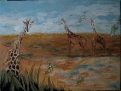alte Picturi Girafe