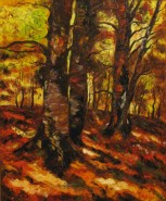 alte Picturi Copaci toamna