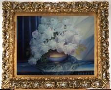 alte Picturi Trandafiri albi--220