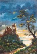 alte Picturi Castel in ruina