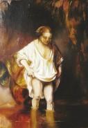 alte Picturi Hendrjkje scaldanduse in rau