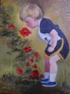alte Picturi Baietel intre flori