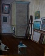 alte Picturi Nero in atelierul meu