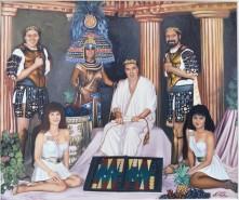 alte Picturi Backgammon in antichitate