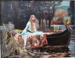 alte Picturi Ofelia si barca