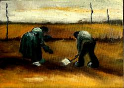 alte Picturi Tarani la camp