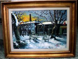 alte Picturi Apus de soare Iarna - Arad