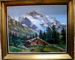 alte Picturi Cabana in munti
